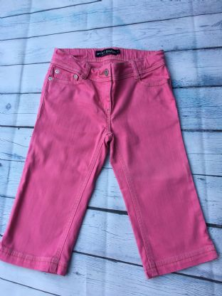 Mini Boden pink long shorts jeans age 10 (fits age 9-10)